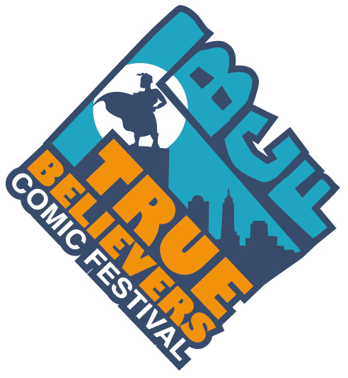True Believers Comic Festival logo