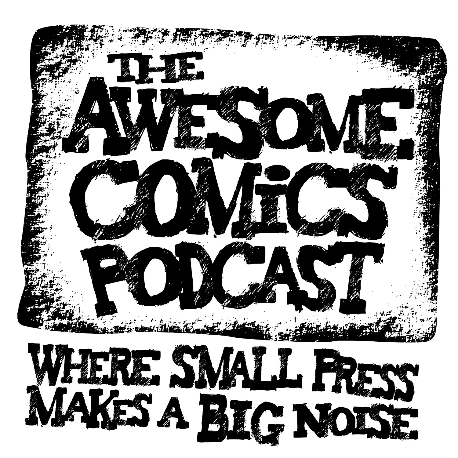 Awesome Comics Podcast logo