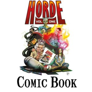 Horde anthology cover comic book